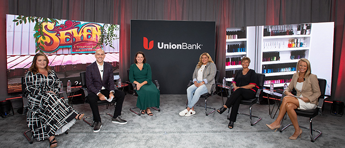 Panelists on the Women Business Owners panel discussion