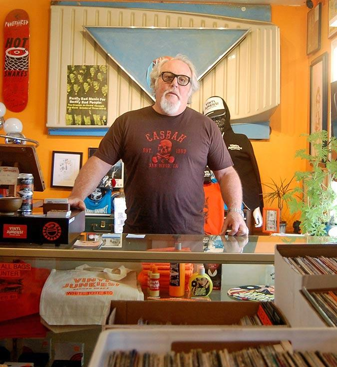 Tim Mays, record store owner